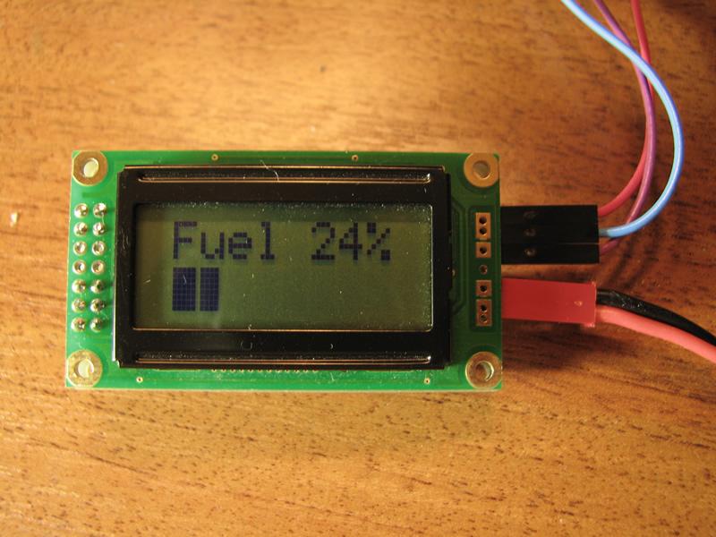 Цифровой указатель топлива своими руками
